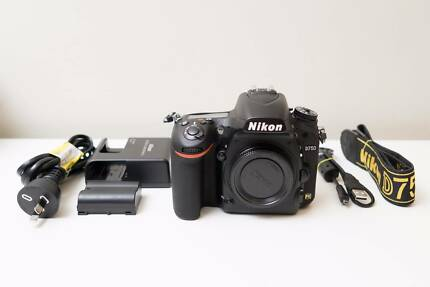 Nikon D750 DSLR Camera Body Only ~Excell Cond ~Low Shutter Count