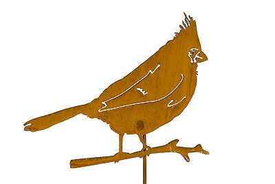 Cardinal Bird Art | Bird Lover Gift | Red Cardinal Metal Art | Garden Gifts