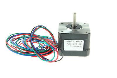 Us Stock Nema 17 Stepper Motor 37oz.in 12v 0.4a For 3d Pinter Reprap Arduino