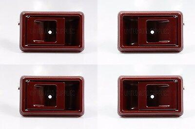 SET OF 4 Inside Door Handle RED for TACOMA PICKUP COROLLA 4RUNNER TERCEL