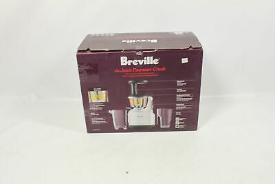 Breville BJS600XL Fountain Crush Masticating Slow