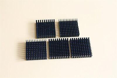 10pcs 40mm X 40mm X11mm Radiator Heat Sink Heatsink Black Aluminum