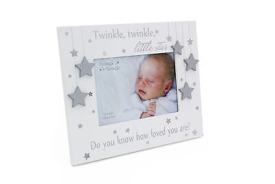 Baby Gift Photo Frame Twinkle Twinkle Little Star CG1417 - Star Photo Frame