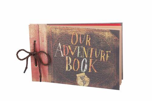 Our Adventure Book Scrapbook, Handmade DIY Photo Album