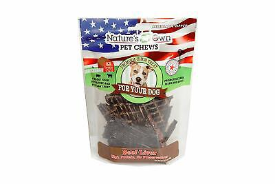 Best Buy Bones Beef Liver- 6 Oz Bagged Treats For (Best Treat Bags For Dogs)
