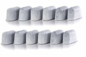 12 Pack Cuisinart Charcoal Water Filter Replacement Parts Refills Coffee Maker