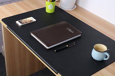 Lohome Desk Pads Artificial Leather Laptop Mat With Fixation Lip Perfect Desk