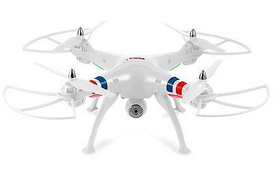 Syma X8W White 4 Channel Wifi FPV  Drone with Camera 2.4 Ghz Quadcopter