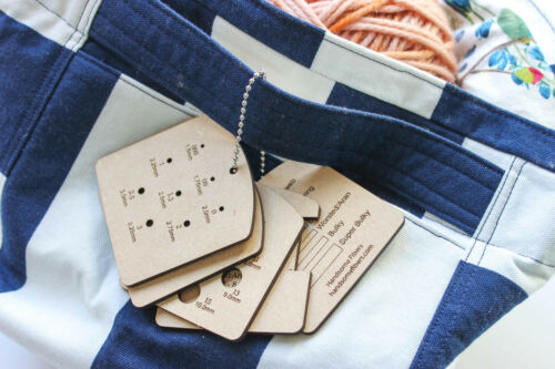 Mini Knitting Tools Style 2 Keychain