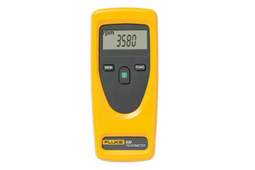 Fluke 930 Non-Contact Tachometer 1 To 99999 revolutions/minute For Industrial