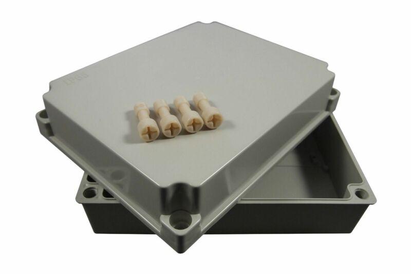 Plastic Electrical Enclosure Junction Box 250x200x100mm Waterproof
