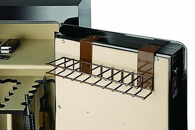 HAND GUN RACK for GUN SAFE 9x ORGANIZER COVERED WIRE PISTOL REVOLVERS HANDGUNS