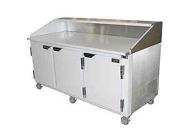 Cooltech 72 Refrigerated Pizza Dough Retarder Table Self-contain