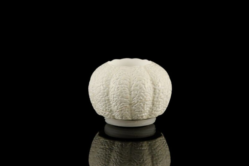Rusticated Pumpkin Bowl For Falcon Pipes Block Meerschaum New Handmade W Case628