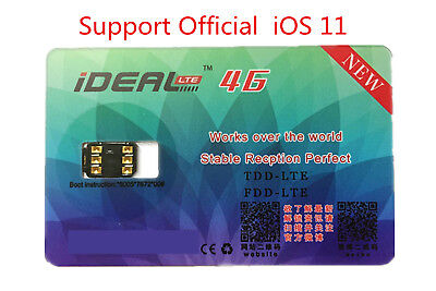 1Pc Unlock Turbo Sim Card For Phone 7 6S 6 Plus 5 Lte Ios 11 10 3 3 Gpp R