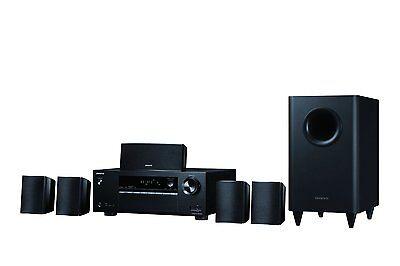 Onkyo Immersive 5.1-Channel Surround Sound Speaker System - Black, HT-S3800