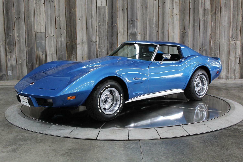 1975 Blue Chevrolet Corvette  L82   C3 Corvette Photo 1