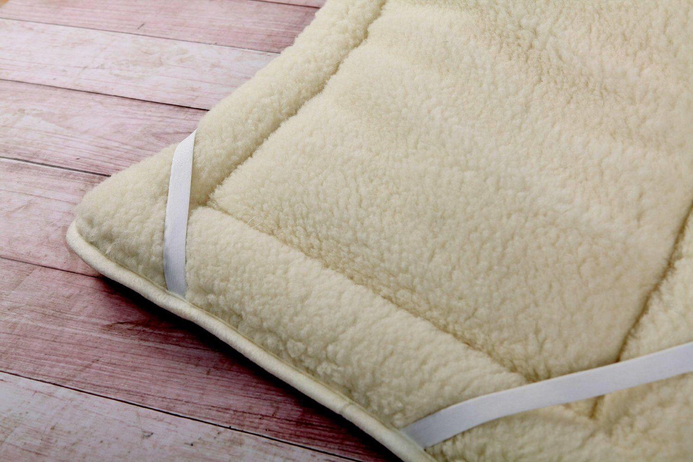 ALL SIZES MERINO WOOL UNDERBLANKET Sheet Mattress Topper Reversible Perfect GIFT