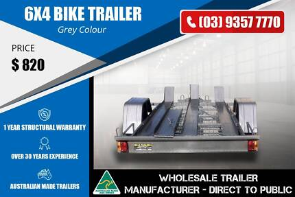 3 Lane Bike Trailer - 6x4 Epping Whittlesea Area Preview