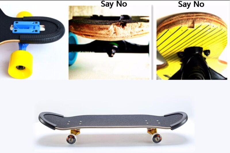 Skateboard/Longboard Nose Guard and Tail Guard