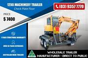 12x6 Tandem Machinery Trailer Epping Whittlesea Area Preview