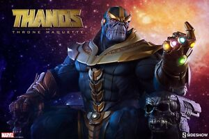 Thanos on Throne Maquette Sideshow LOW NUMBER 027/3500