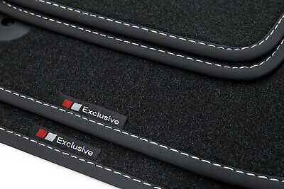 1996-2003 Exclusive-line Design Fußmatten für Audi A3 8L Bj