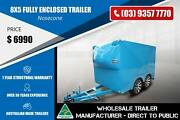 2.8 Tonne Fully Enclosed Trailer With Nosecone Epping Whittlesea Area Preview