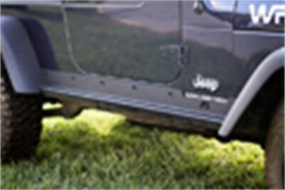 Heavy Duty Rocker Guards - Heavy Duty Rocker Panel Guards; 97-06 Jeep Wrangler TJ