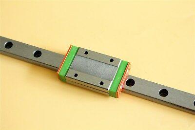 Sliding Guide Mgn12 500mm Miniature Linear Guide Rail Mgn12h Bearing Block