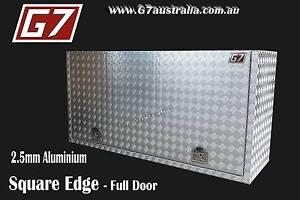 Square Edge Aluminium Toolbox ute truck tool box Brisbane City Brisbane North West Preview