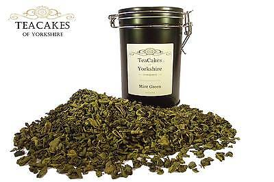 Mint Green Tea 100g Gift Caddy Green Aromatic Loose Leaf Best Value