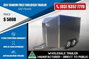 Fully Enclosed Trailer - SAS Panels - 8x5 Epping Whittlesea Area Preview