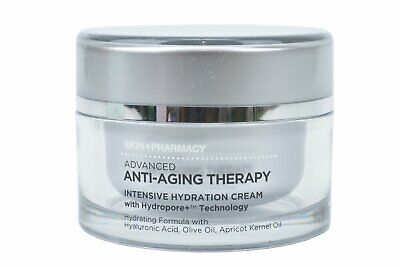 Skin+Pharmacy Advanced Anti-Aging Therapy Intensive Hydration Cream, 1.7oz