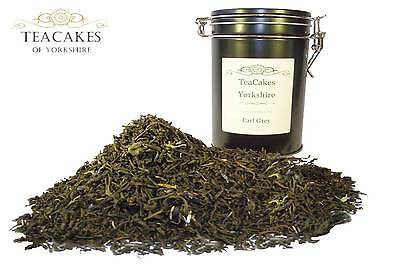 Earl Grey Tea 100g Gift Caddy Black Flavoured Loose Leaf Best Natural Quality