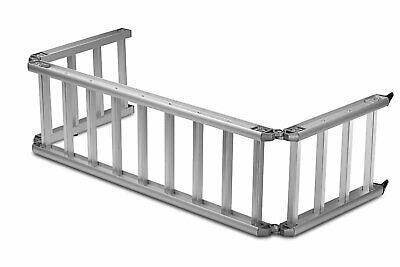 ReadyRamp Compact Bed Extender / Ramp Silver 90