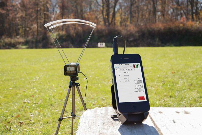 Ballistic Precision Chronograph Accurate Velocity Measurement Tool FPS MPS