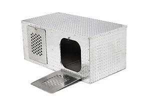 rmp portadog box 2 dog t462 aluminum metal