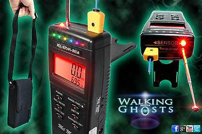 Mel Meter Mel-8704R-Rem ATDD EMF Temperature, Light, Rem Pod Paranormal Ghost UK