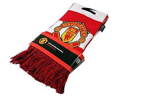 Manchester United Scarf Bar Red Winter Wayne Rooney By Rhinox