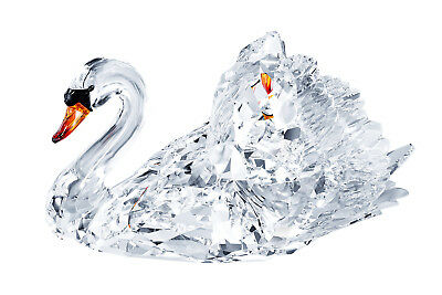 - Swarovski Clear Crystal Figurine GRACEFUL SWAN, Large - 1141713 New