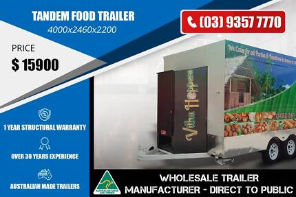 4m Long Tandem Food Trailer Epping Whittlesea Area Preview