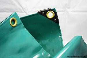 4,80 €/m² PVC LKW Plane Abdeckplane 650g/m Größen Farbe grün, blau, weiss, grau