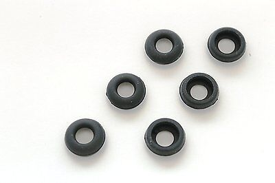 3 Pairs Small Black Eargels for Motorola Elite Sliver HZ750 Wireless Headset
