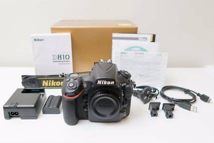 Nikon D810 36.3MP DSLR Camera Body Only As New Low Shutter Count