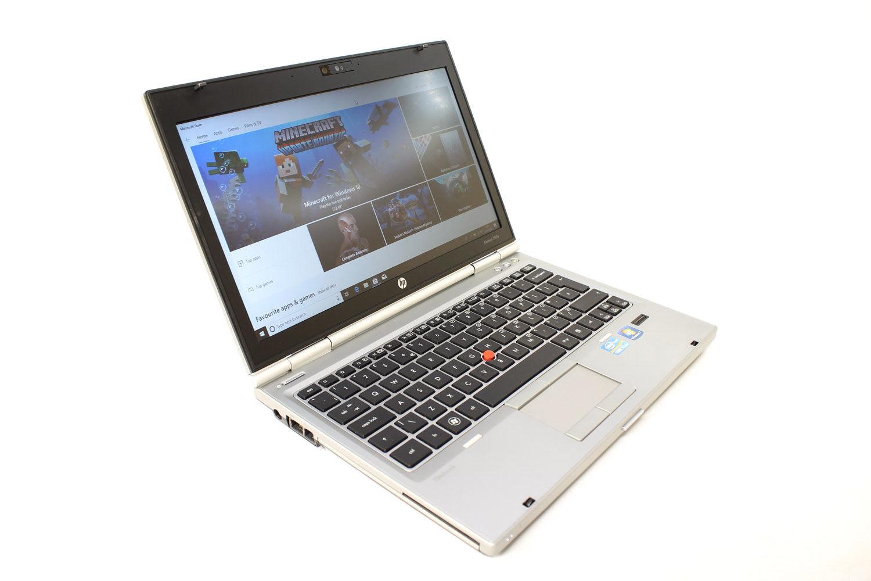 "Laptop Windows - HP 2560p Laptop 12.5"" Intel I7 2.7Ghz 8GB 480GB SSD Windows 10 webcam DVD"