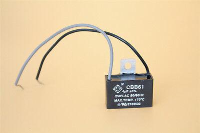 Cbb61 capacitorebay 5 4uf 250v ac cbb61 motor start run ceiling fan capacitor 2 wire mozeypictures Choice Image