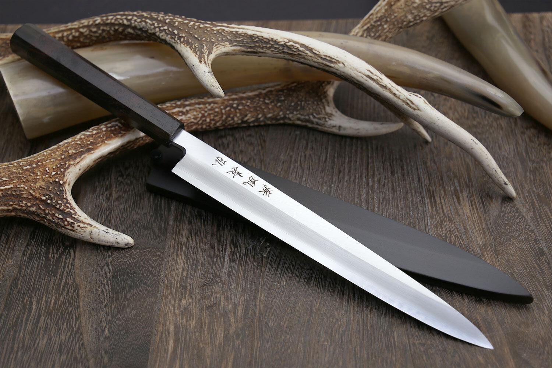 Yoshihiro Inox Stainless Steel Yanagi Sushi Sashimi Japanese Chef Knife