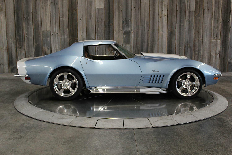 1972 Blkue Chevrolet Corvette     C3 Corvette Photo 6