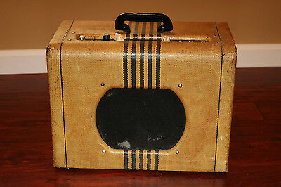 1955 Supro Valco  Supro Model 1666 Airline  Tweed Tube amplifier, used for sale  Loveland